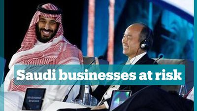 Foreign companies pull out of Saudi conference over Khashoggi incident