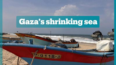 Israel reduces fishing zone for Palestinians