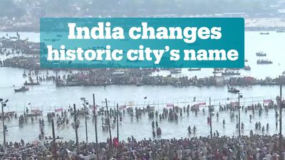 India changes name of historic city Allahabad