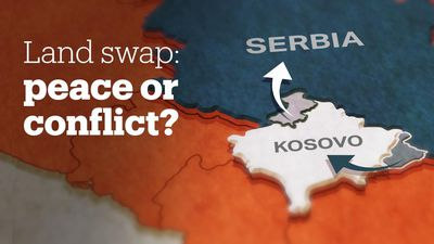 Why are Serbia and Kosovo considering a land swap?