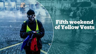 Yellow Vests take to the streets for fifth week