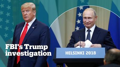 FBI investigated whether Trump was working for Russia'