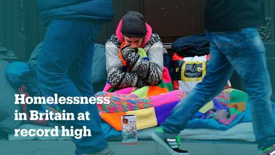 The rise of homelessness in Britain