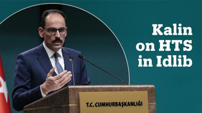 Turkish presidential spokesman on the HTS presence in Idlib