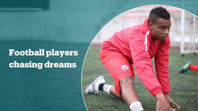 African football players chase their dreams in Istanbul