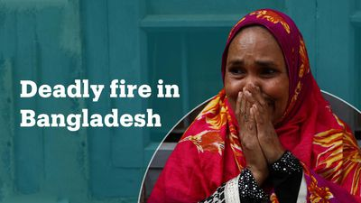 At least 70 killed in Bangladesh fire