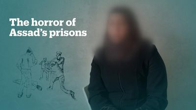 Syrian woman talks about abuse and torture in Assad regime prison