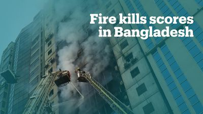 Deadly blaze kills at least 25 people in Bangladesh