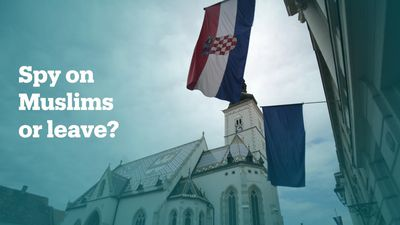 Does Croatia deport Bosnians who refuse to spy on Muslims?