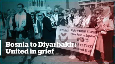 Bosnian mothers rally for grieving mothers of Diyarbakir