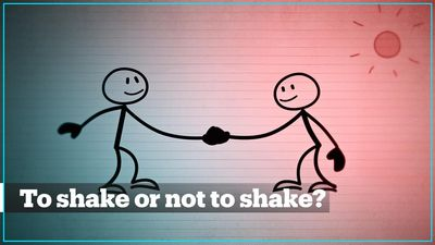 The handshake dilemma: To shake or not to shake?