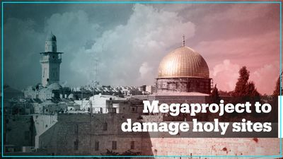 Israel's cable car project in Jerusalem will damage holy sites