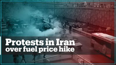 Protests erupt in Iran over fuel price hike