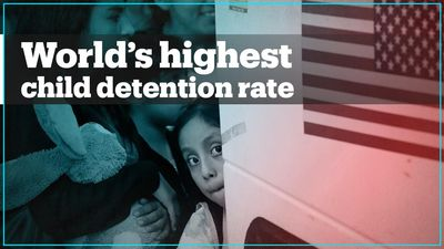 Over 100,000 children in migration-related detention in US