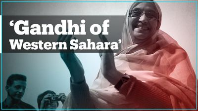 Who is Aminatou Haidar, the 'Gandhi of the Western Sahara'?