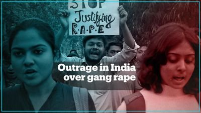 Protests in India over gang rape and murder of woman
