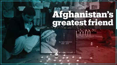 Afghans remember the Japanese doctor who devoted his life to the country