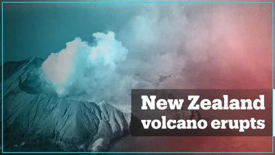 Volcano eruption in New Zealand kills at least five people