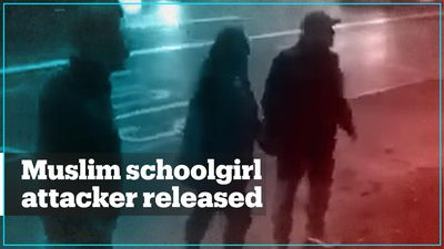 Woman who attacked a Muslim schoolgirl walks free