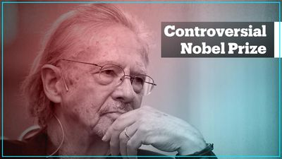 Journalists take a stand against Nobel Prize winner Peter Handke