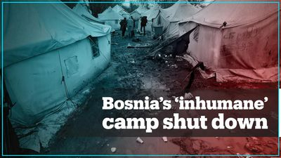 Bosnia moves migrants from controversial campsite