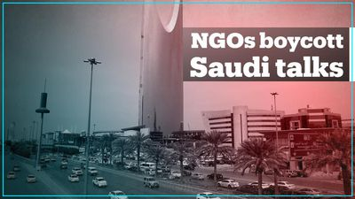 Human rights groups boycott pre-G20 meetings in Saudi Arabia