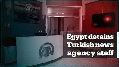 Egyptian police raid Anadolu Agency's Cairo office, detains four employees