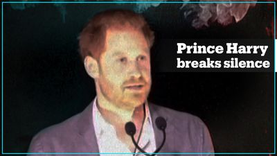Prince Harry expresses 'great sadness' over royal split