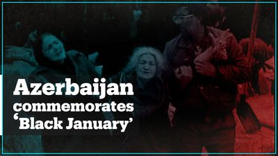 Azerbaijanis mark 30th anniversary of bloody 'Black January' massacre by Soviet troops