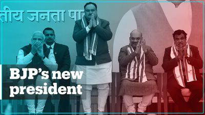 Who is the new president of India's ruling BJP?