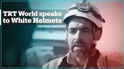 TRT World speaks to White Helmets in Aleppo