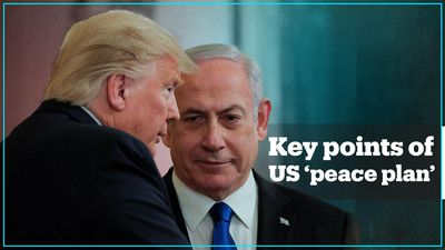 6 things to know about Trump's Middle East 'peace plan'