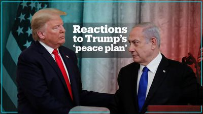 Reactions to Trump's Middle East 'peace plan'