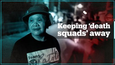 Filipina mothers patrol streets to curb drug war killings