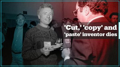 Inventor of 'cut', 'copy' and 'paste' dies