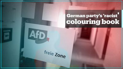 Germany's far-right AfD slammed for distributing 'racist' colouring book