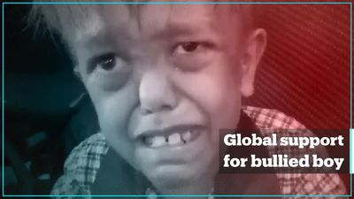 Global support for bullied Australian boy