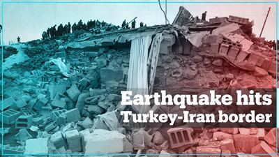 5.7-magnitude earthquake hits Iran-Turkey border