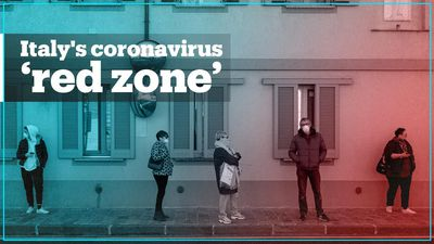 What's it like to live in Italy's coronavirus 'red zone'?