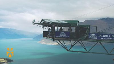 New Zealand Discoveries - Bungy Jumping