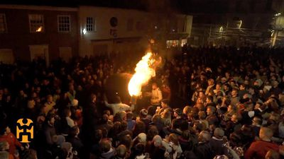 Devon's Village of Fire