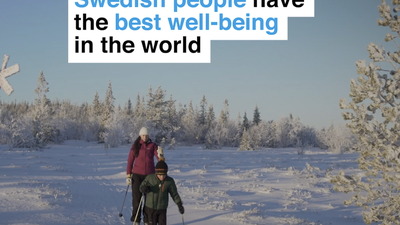 Swedish people have the best well-being in the world