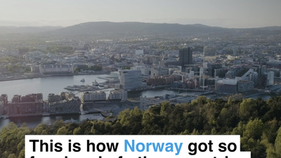 This is how Norway got so far ahead of other countries with electric cars