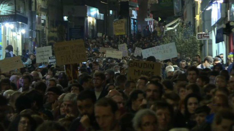Protesters demand mayor's resignation over building collapses