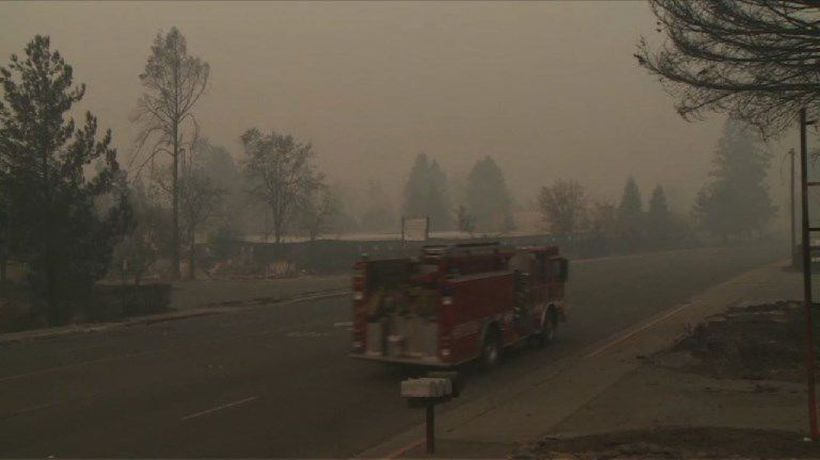No recovery in Paradise after wildfire