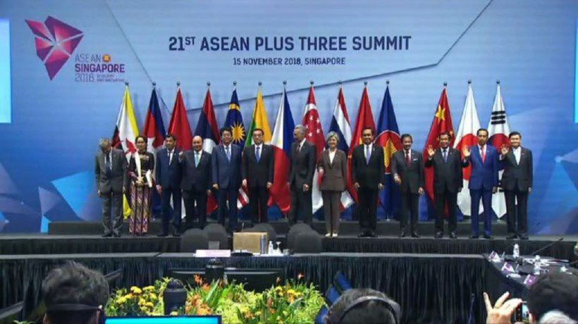 ASEAN 2018: China, Japan and SKorea attending summit