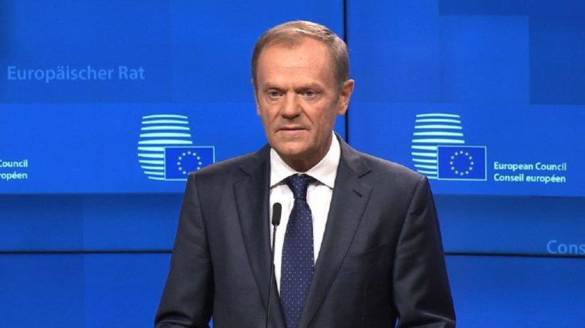 EU's Tusk says summit to sign Brexit deal November 25