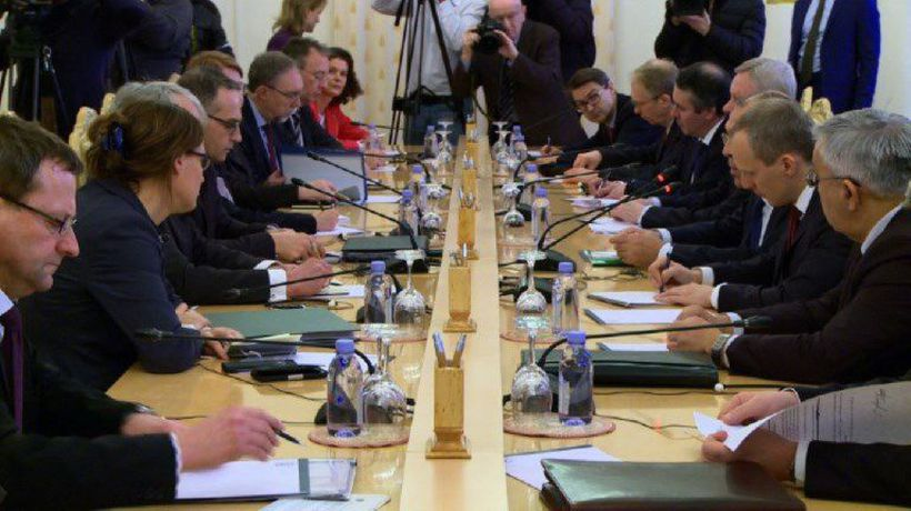 Russian FM Lavrov meets with German counterpart Maas