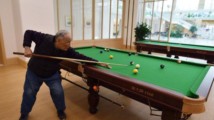 China's ageing elite live golden years in style