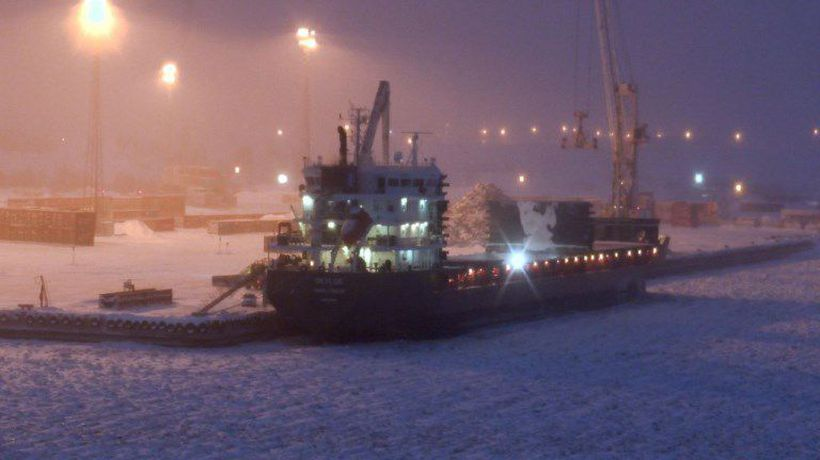 Going greener: Finland's new gas-fuelled icebreaker